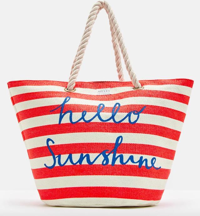 JOULES  SUMMER BAG BEACH BAG RED SUN £19.95