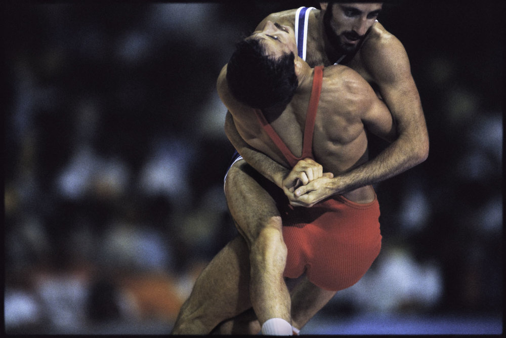 Greco-roman wrestling, Los Angeles, August 1984