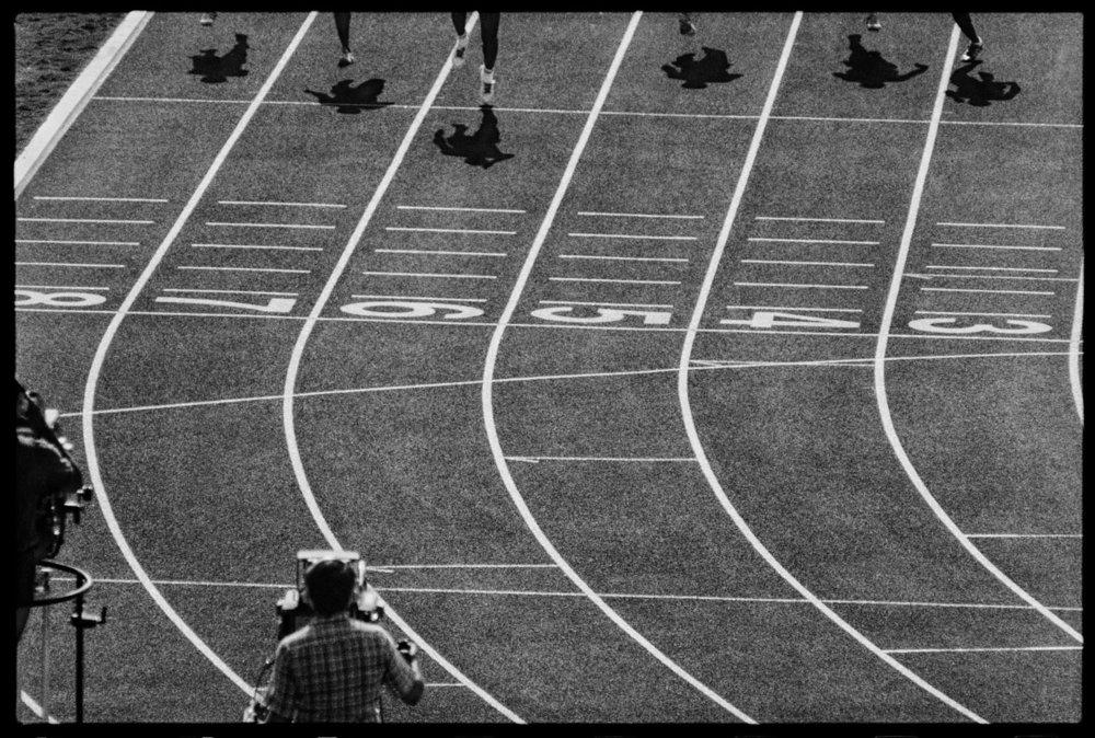 100m final, Los Angeles, August 1984