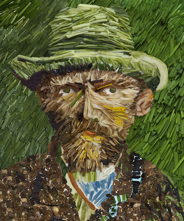 Vincent Van Gogh Made Of Leek