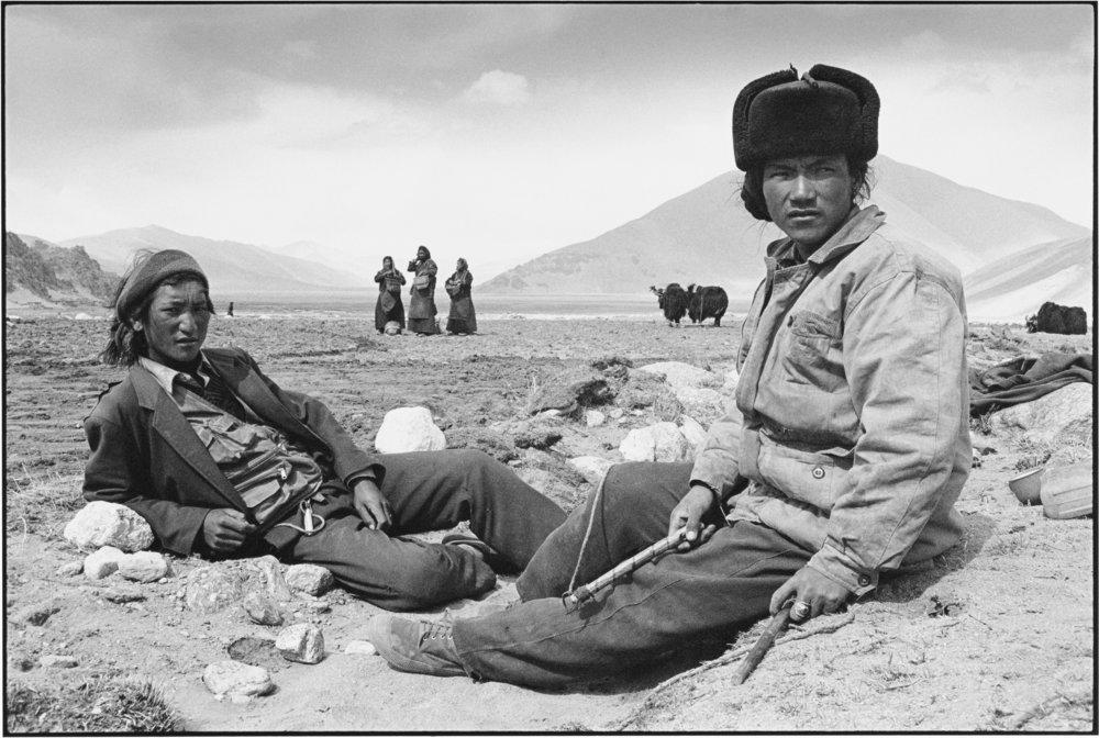 Resting, Tibet