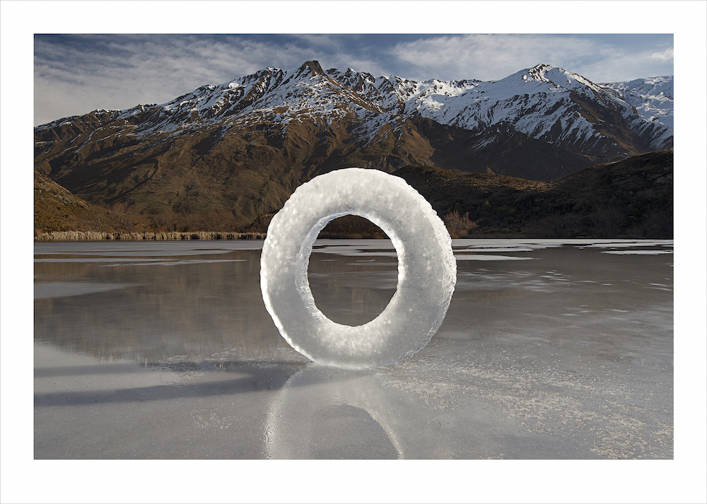 Diamond Lake Ice Circle