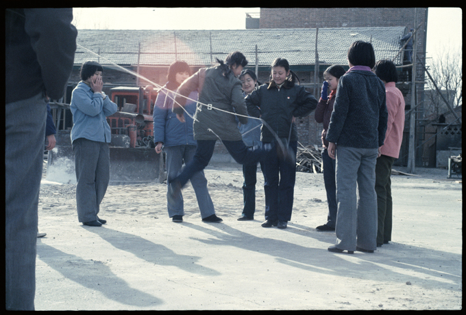 The Playground at Beijing High School No. 171, March 1986