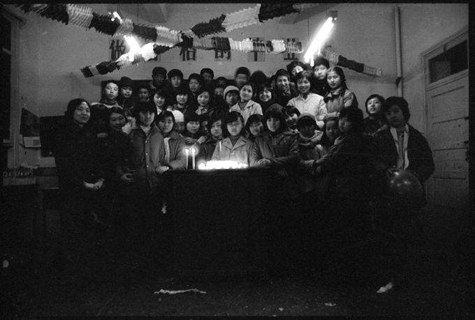 A Classroom in Beijing High School No. 171, December 31, 1985