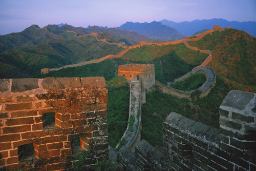 The Great Wall at Jinshanling, Hebei Province