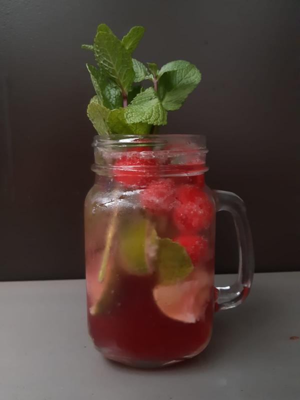 Raspberry Mint Ricky with Rasp Gin or Rasp vodka.JPG