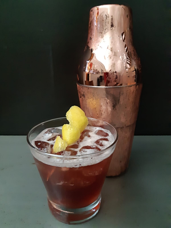 Sloe Gin Sour   Using Mother's Ruin Sloe Gin