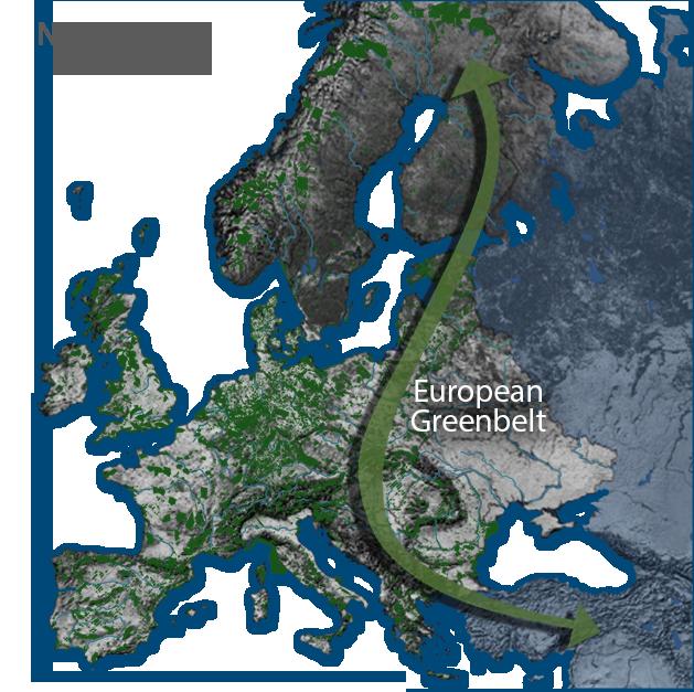 Nature 2000 Network and European Greenbelt.