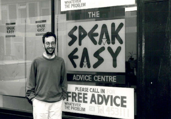 The Speakeasy Advice Centre opens its doors in 1993