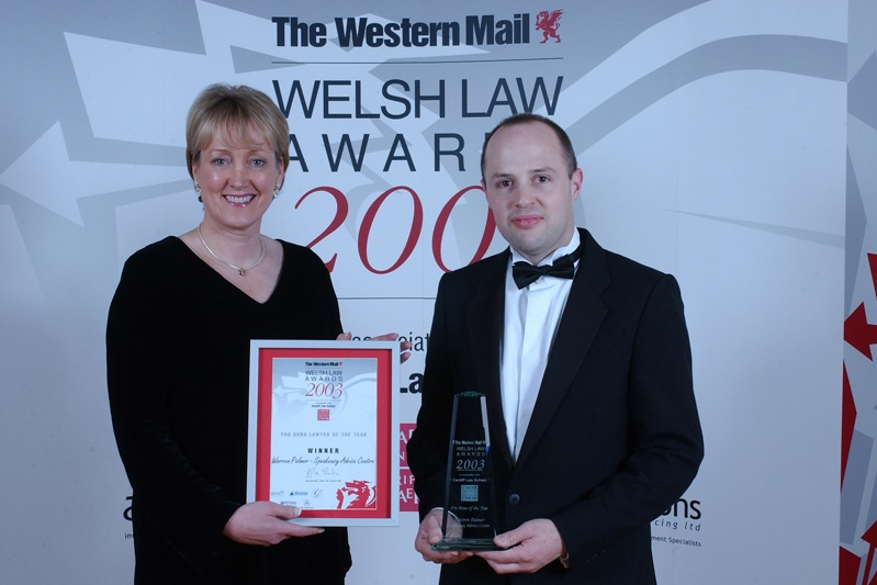 Pro bono Lawyer of the Year 2003