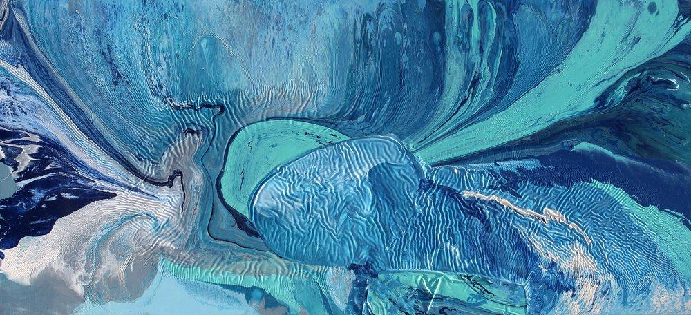 Flowback  Oil on canvas  120 cm x 80 cm  2017   Available