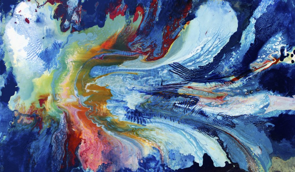 Irridescence  Oil on canvas  100 cm x  60 cm  2017    Sold