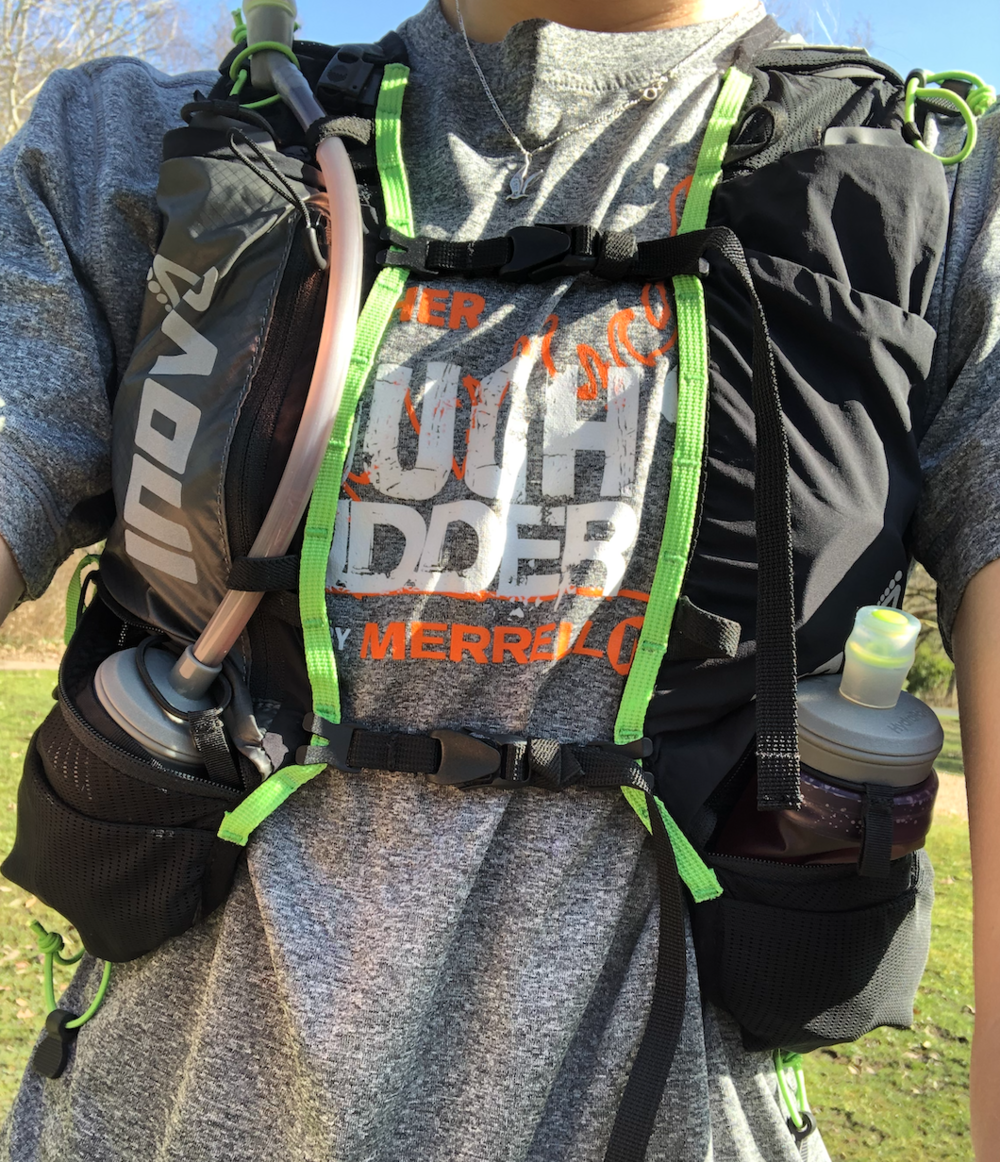 Race Ultra Pro Vest 2in1 - Bambi wearing size S/M