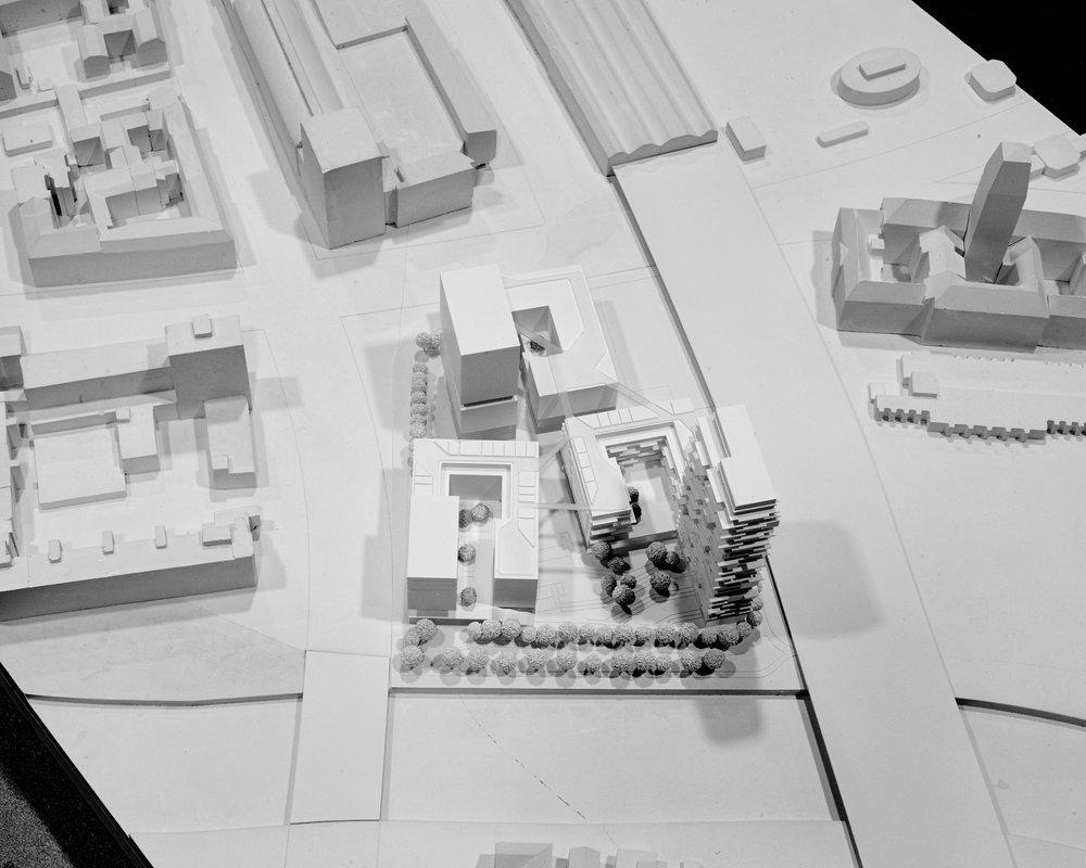 Zweiter Platz: Entwurf der KSP Jürgen Engel Architekten © Spandauer Ufer GmbH & Co. KG