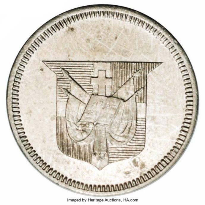 Essai de Monnaie 1892. Monedas Republica Dominicana