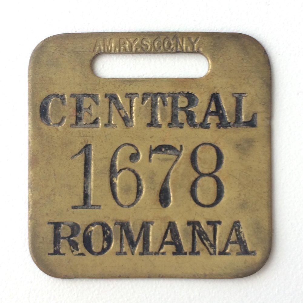 Placa de Identificación.