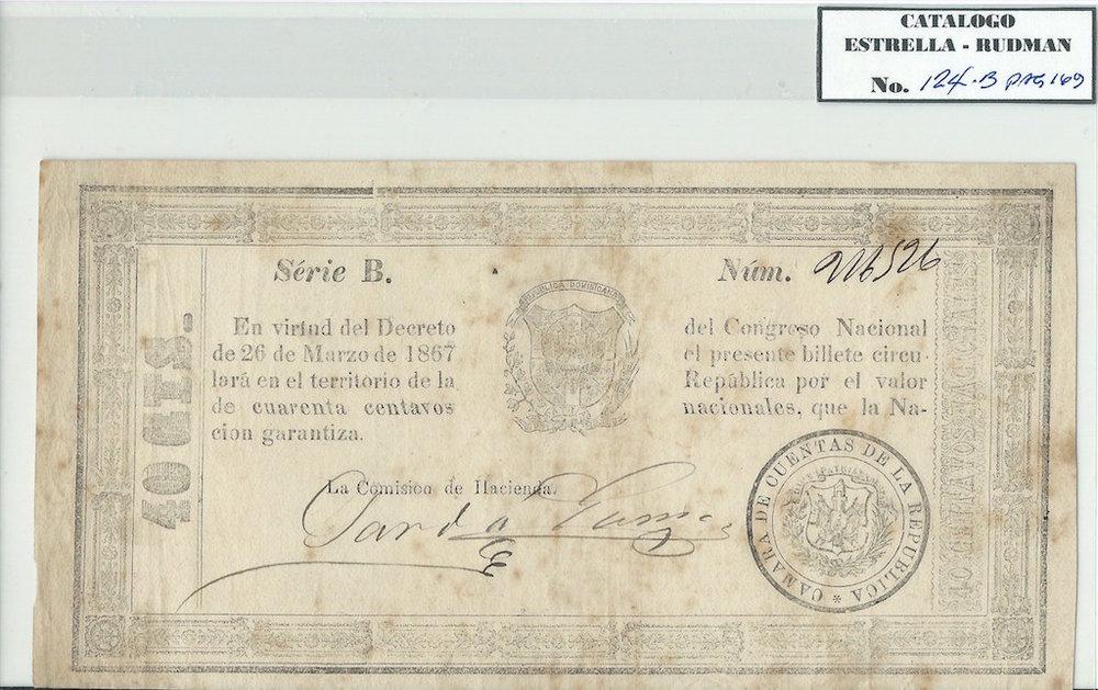 ER-124-B  1867-03-26-40¢-Ser B-Escudo Peq-Sarda-Gomez.jpeg