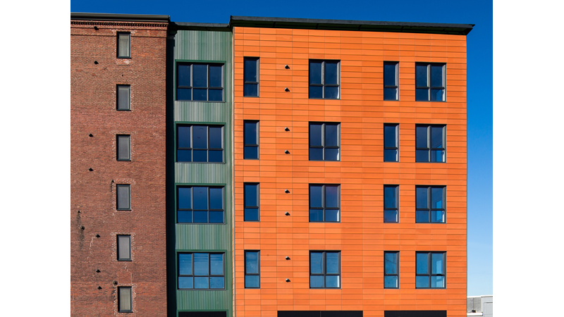 Passive House apartments south boston