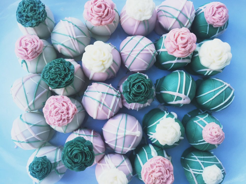 Dayton Bridal Shower Cake Balls