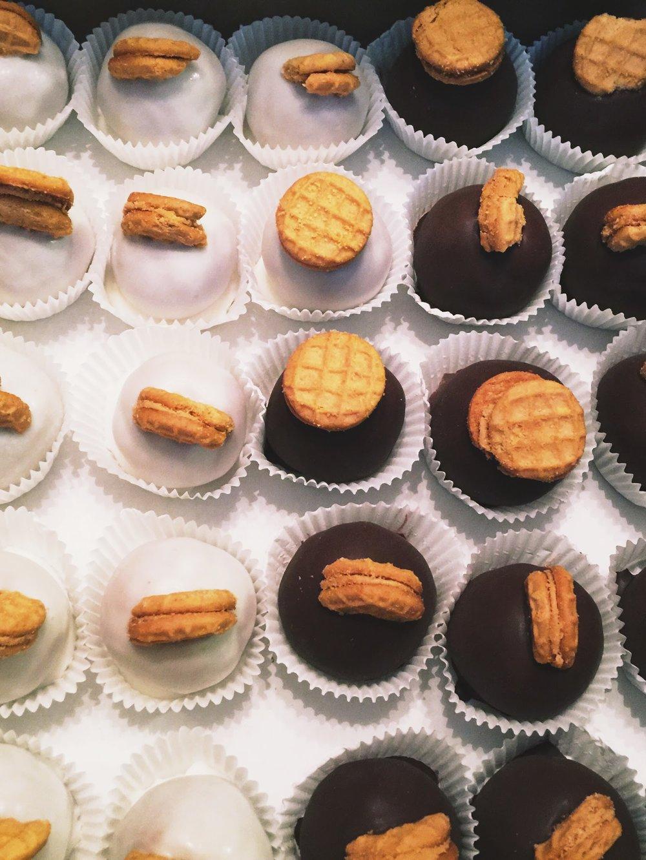 Dayton Nutter Butter Cookie Truffles