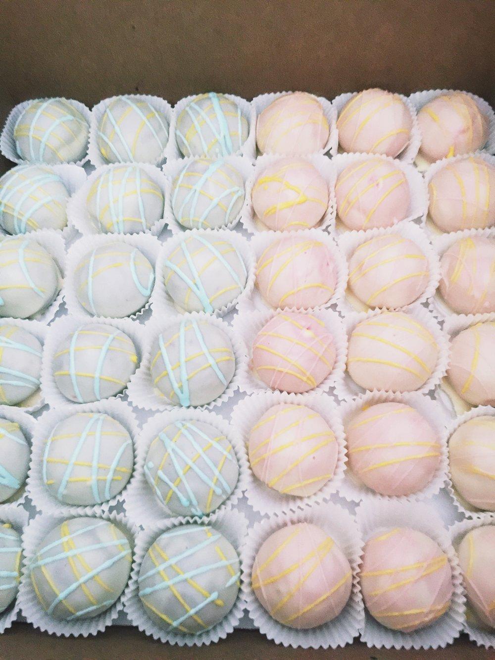 Cincinnati Easter Cake Balls