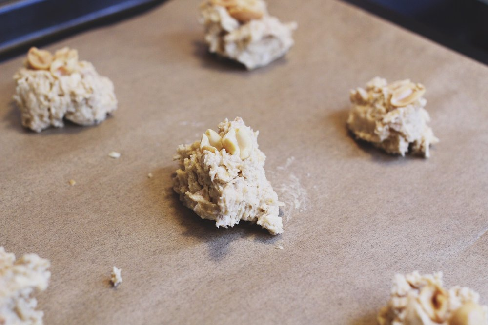 Baking Peanut Butter Cookies Recipe
