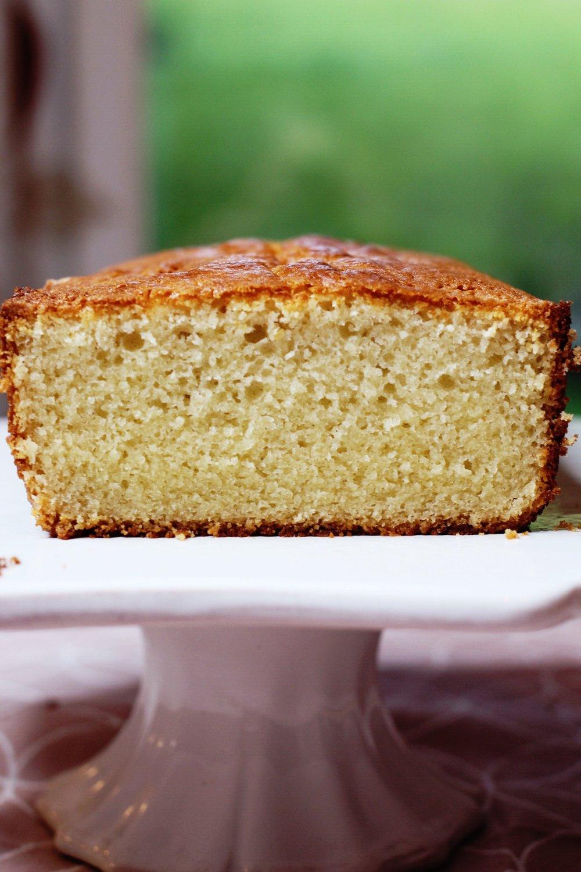 Gluten-Free Condensed Milk Pound Cake