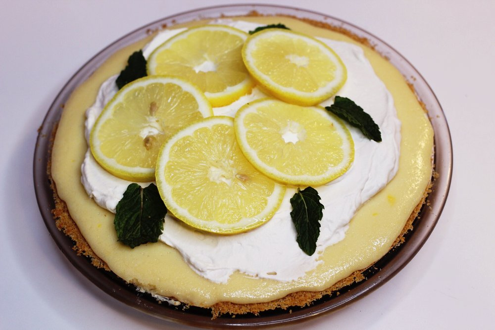 Let\'s Dough This: Easy Lemon Pie — The Little Pink Bakery ...