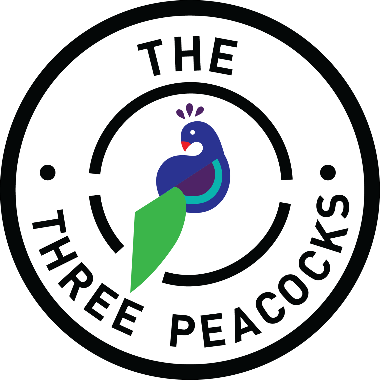 The three peacocks