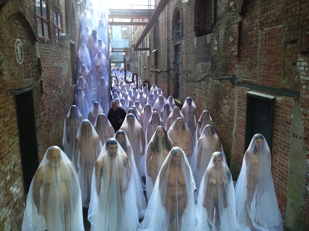 Spencer Tunick in Installation.jpg