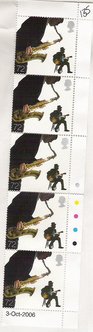 Ben appeared on the UK 72p stamp in 2006