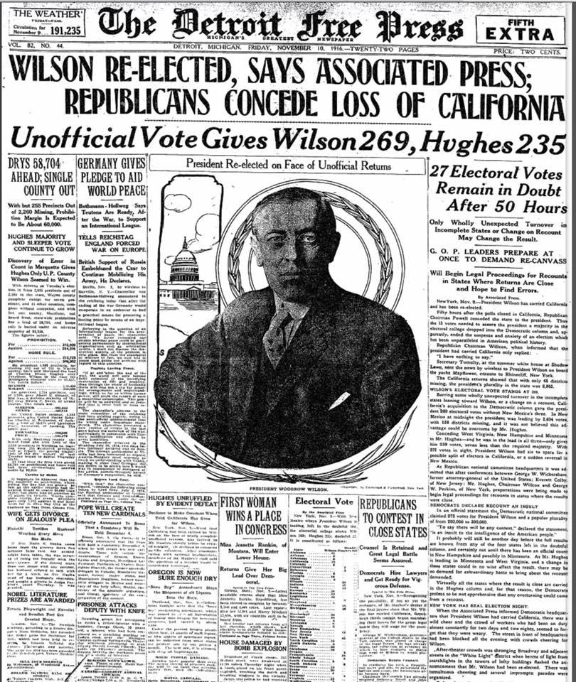 Detroit Free Press 11/10/1916