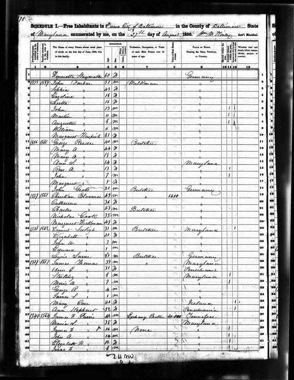 1850 Census (2)