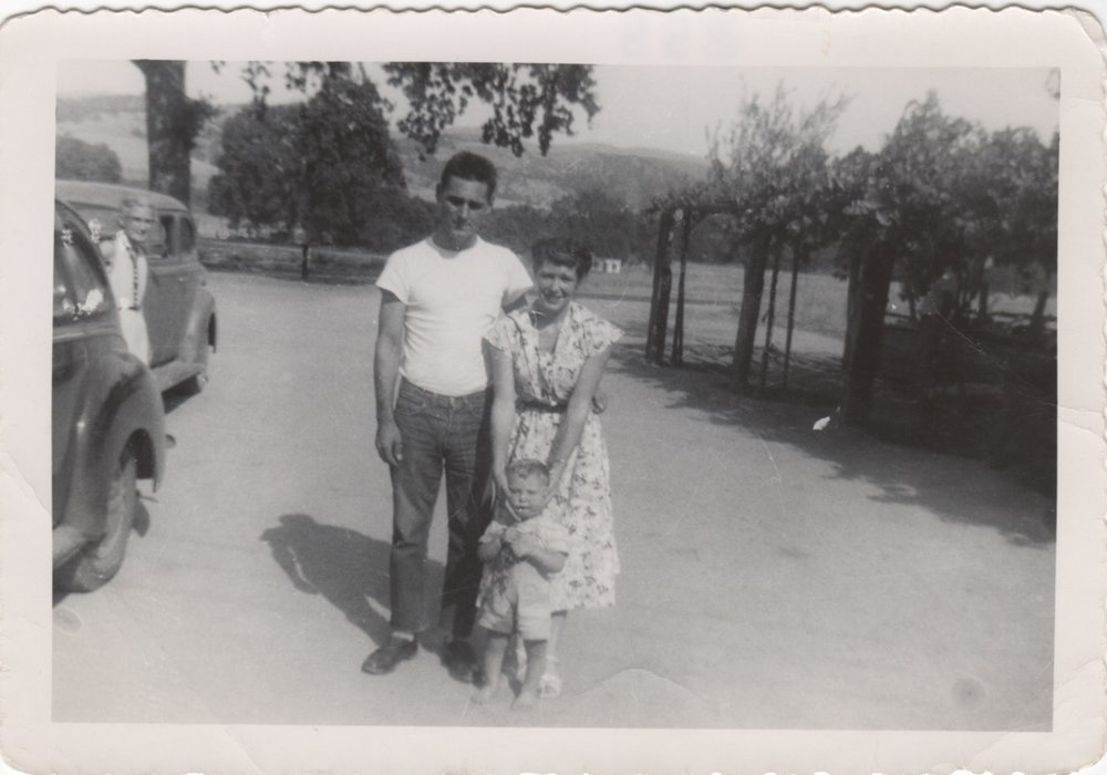 Ragar, Lina and Ragar Jr. - 1953