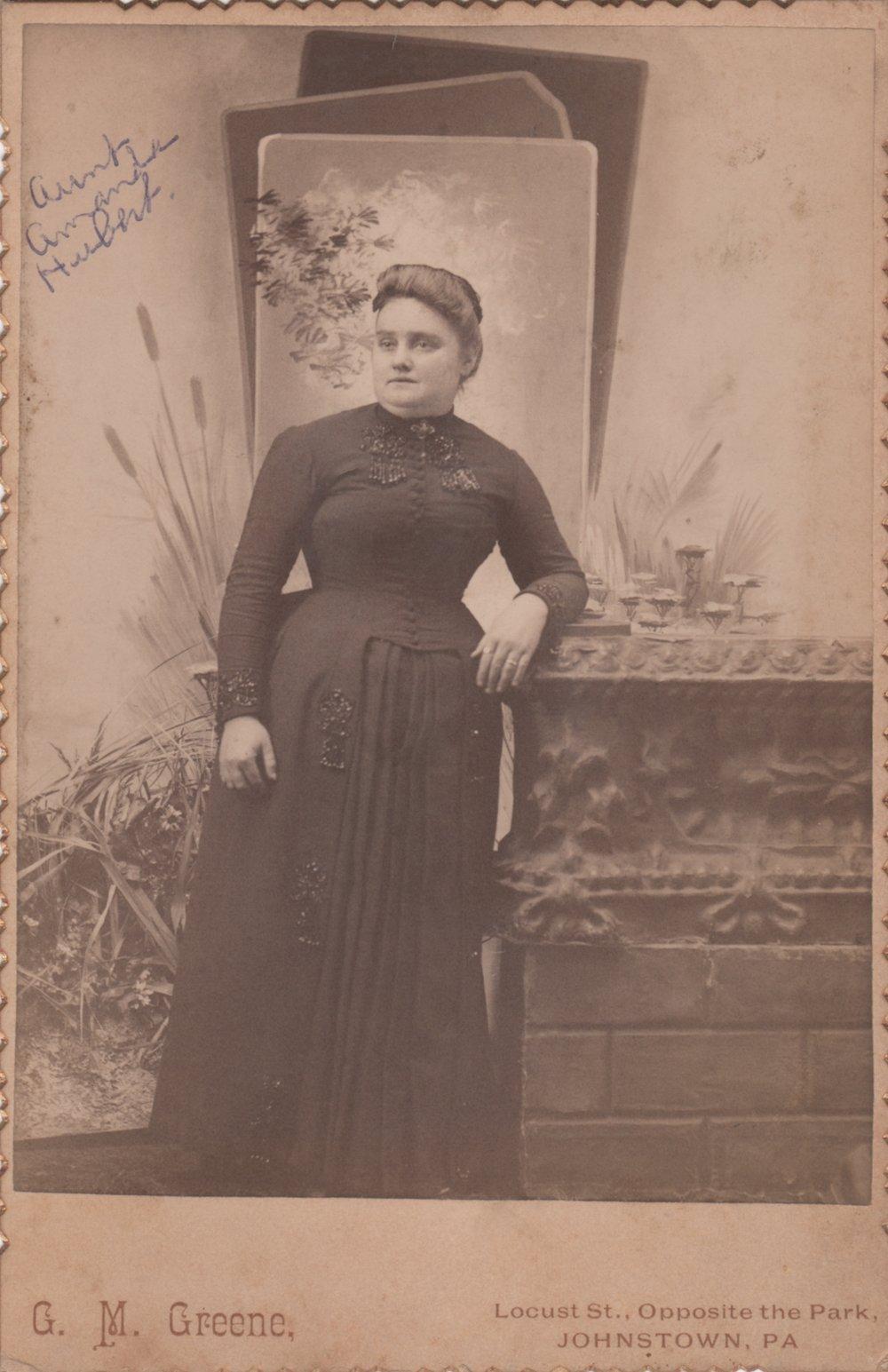 Amanda (Rhoads) Hubert (1864-1903)