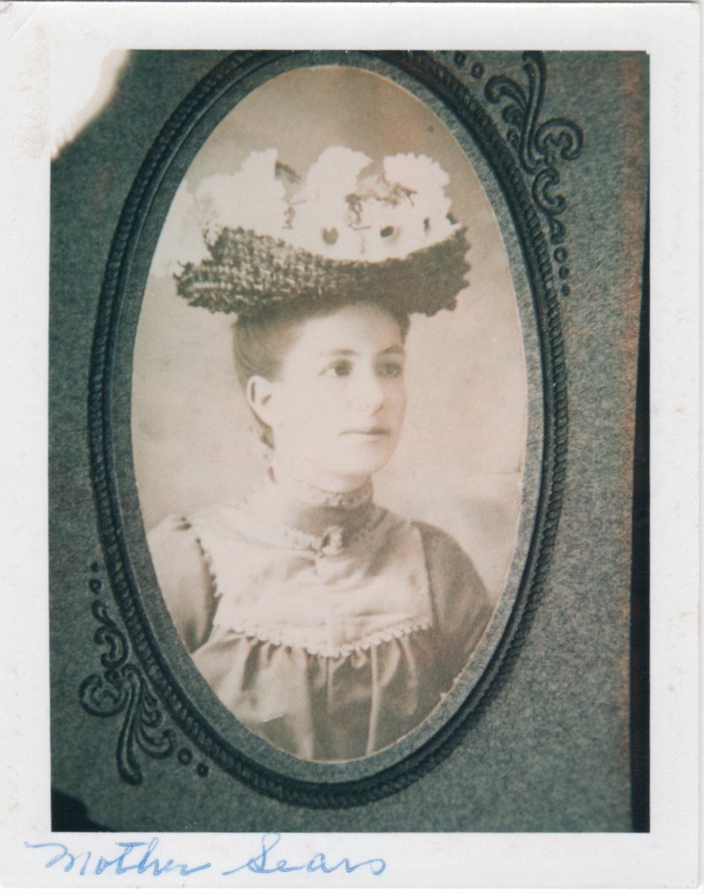 Clara Rachel Miles/Myers Sears as a young woman