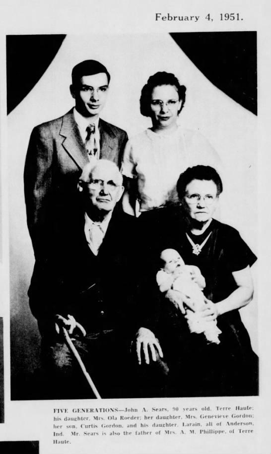 Terre Haute Tribuner 2/4/1951
