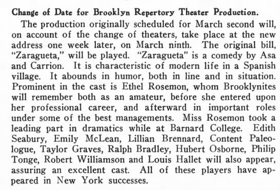 Brooklyn Life 3/3/1917