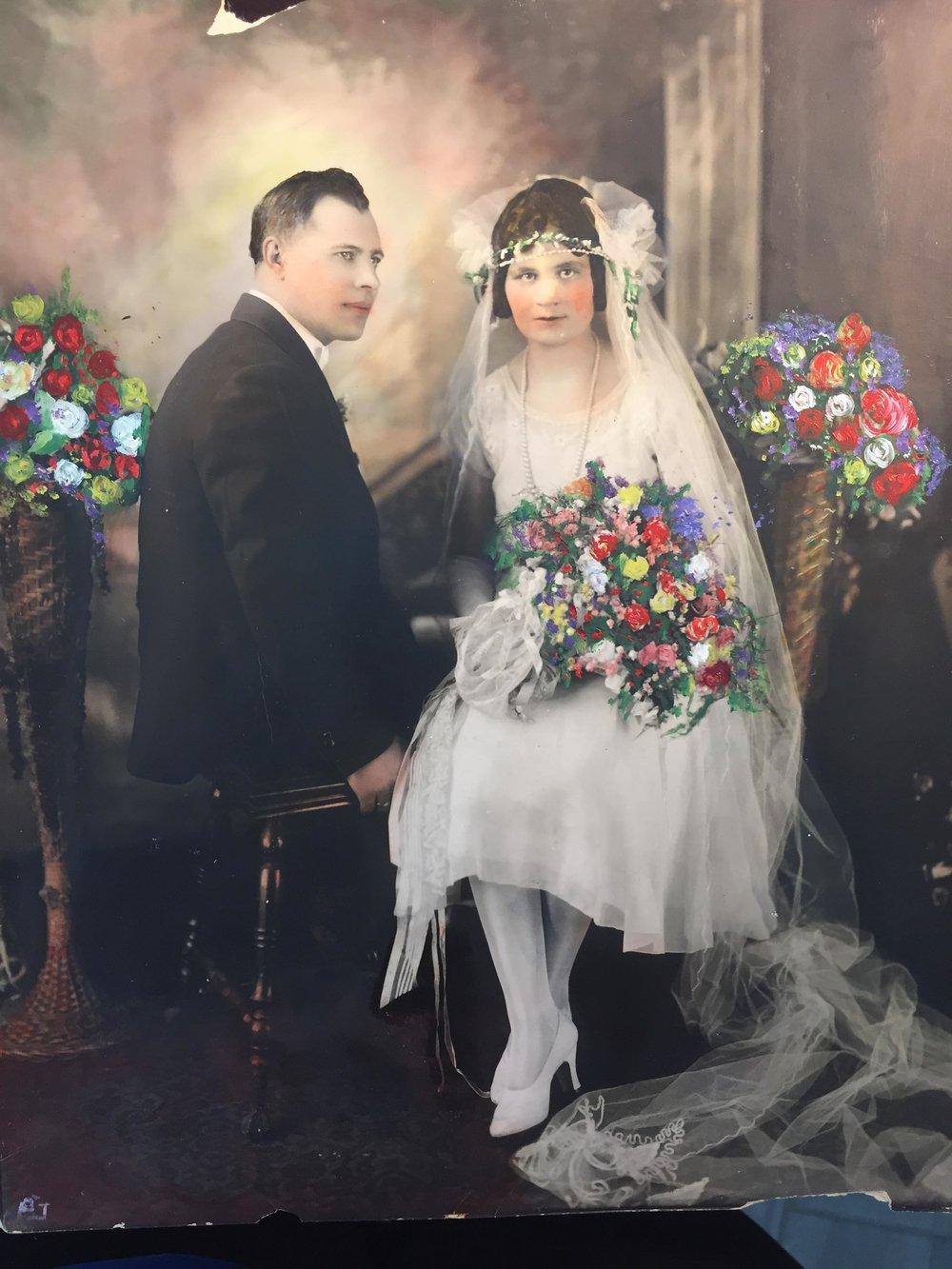 Odysseus Giokas and Dimitra Elissavitis 1/6/1926