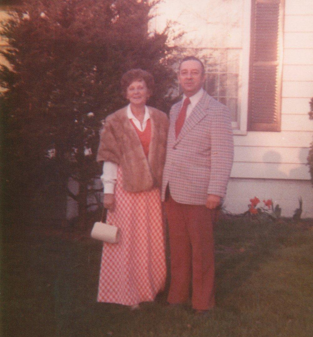 James William Halvangis (1920-1974) and Claire Pawlowski Halvangis (1916-1980)