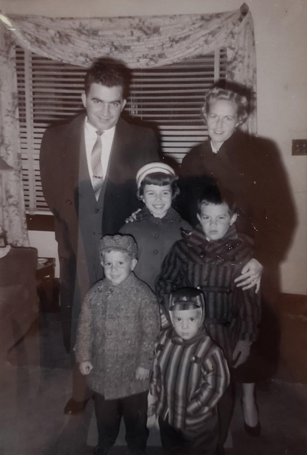Karr Family abt. 1960