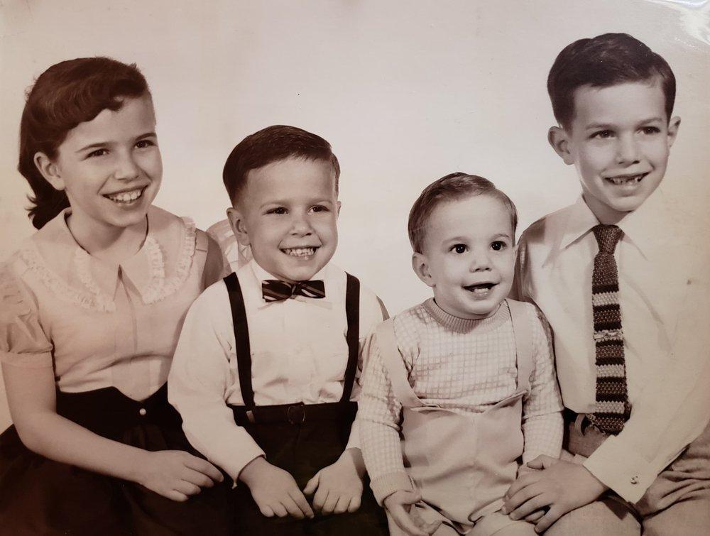 Karr Siblings:Angie, Michael,George, Bill (L-R)