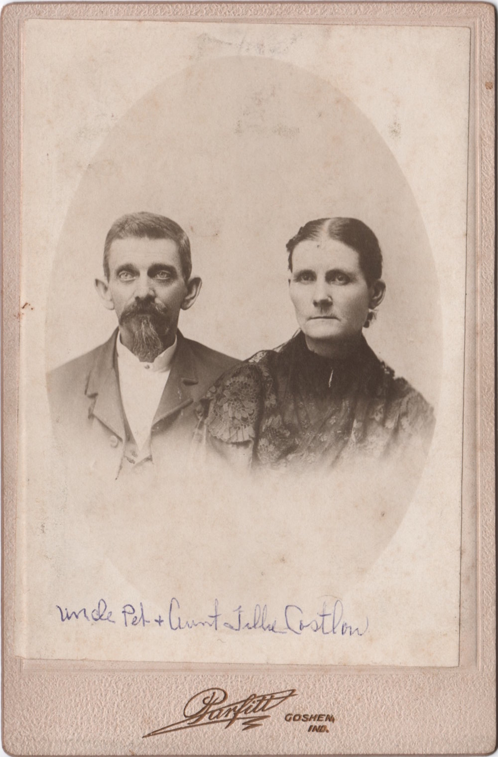 Peter Costlow (1846-1905) and Matilda Topper Costlow (1850-1935)