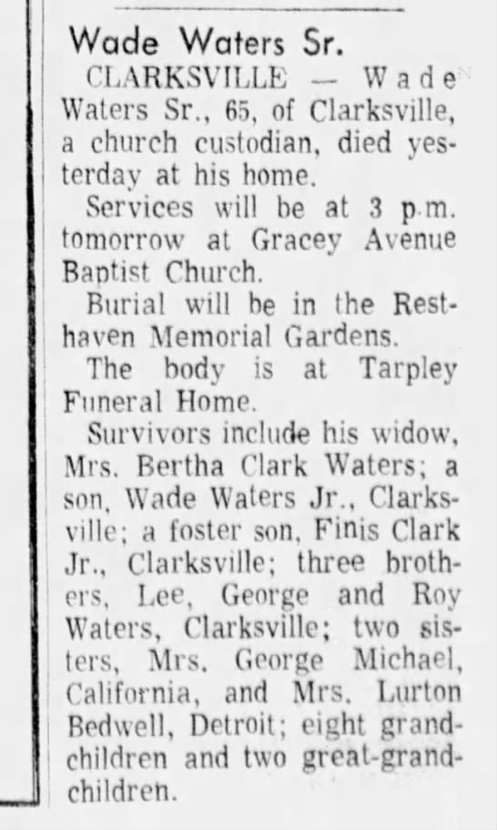 The Tennessean (Nashville, TN) 30 Jun 1972