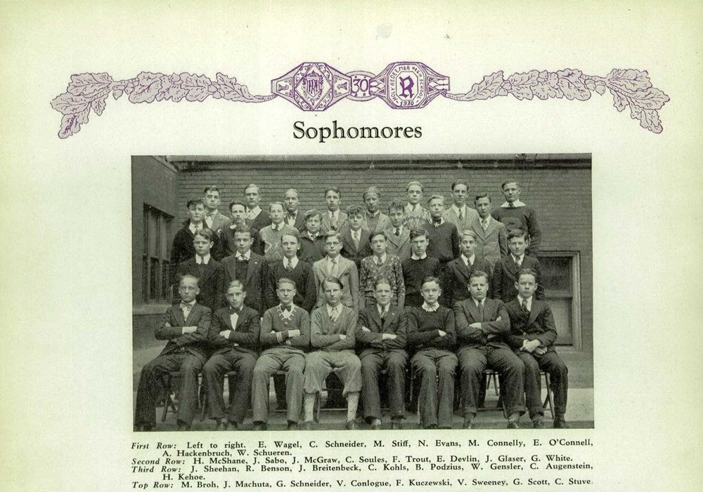 1930 Holy Redeemer High Schoo Yearbook