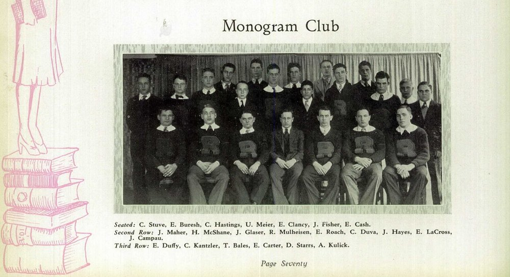 1931 Holy Redeemer High School Yearbook