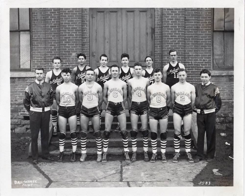 St. Michael's (Flint, MI) 1942 Boys Basketball Team