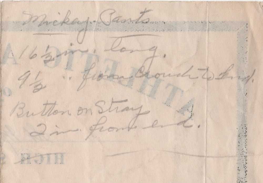 Michael Hanley Basetball Letter 1942 Back.jpeg