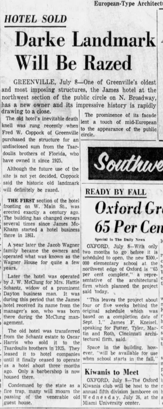 Dayton Daily News (Dayton, OH) - July 9, 1961
