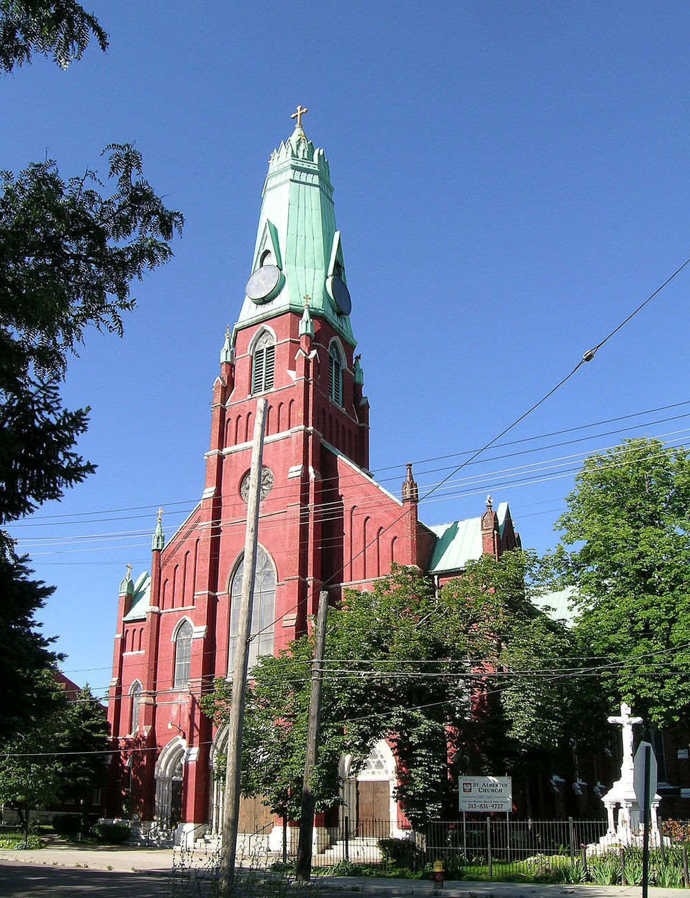 St. Albertus Catholic Church - Detroit, MI